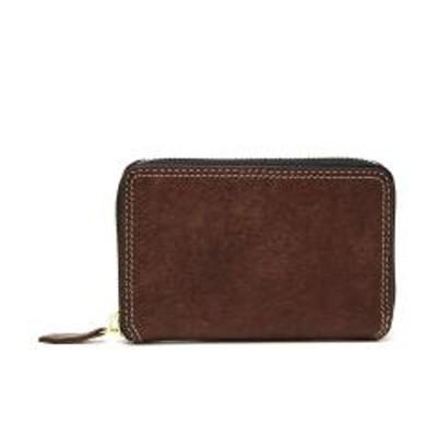 NELDネルド 二つ折り財布 NELD PUEBRO ミドルラウンド財布 小銭入れあり ボックス型小銭入れ メンズ レディース 革 レザー プエブロ AN150 チョコ(23)