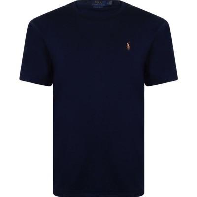 ラルフ ローレン Polo Ralph Lauren メンズ Tシャツ トップス Pima Polo T Shirt French Navy