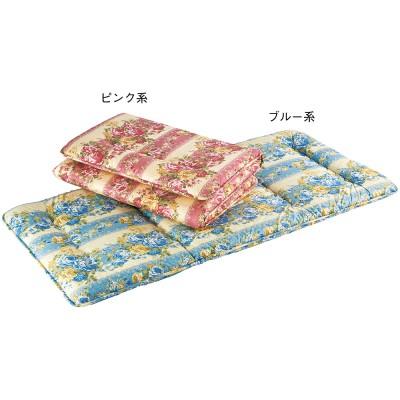 ◆英国産ロイヤルダウンウール使用 固わた入羊毛敷ふとん バランスタイプ(100×210cm)