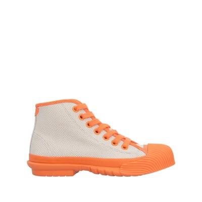 トリー バーチ TORY BURCH スニーカー&テニスシューズ(ハイカット) オレンジ 8 紡績繊維 スニーカー&テニスシューズ(ハイカット)