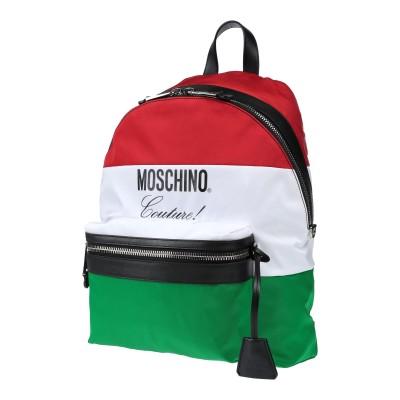 モスキーノ MOSCHINO バックパック&ヒップバッグ レッド ナイロン 100% バックパック&ヒップバッグ