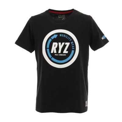 RYZストリート系ウェアTシャツ 半袖 869R9CD6316 BLK ブラック
