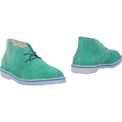 ウォーリー ウォーカー WALLY WALKER メンズ ブーツ シューズ・靴 boots Green