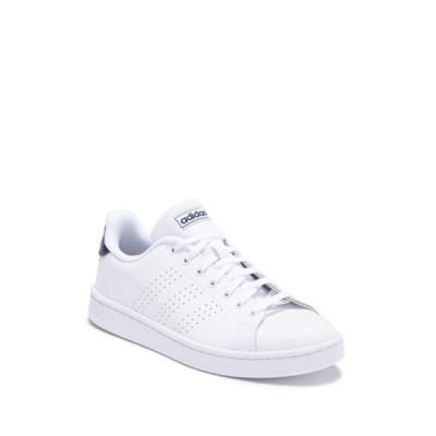 アディダス メンズ スニーカー シューズ Advantage Leather Sneaker FTWWHT/FTW