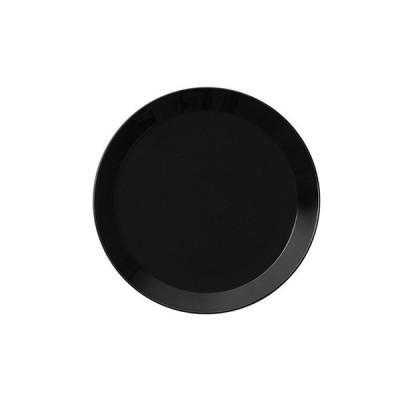 プレート iittala イッタラ ティーマ 17cm 3枚セット ブラック(1005504) キッチン、台所用品