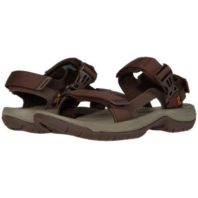テバ Teva メンズ サンダル シューズ・靴 Tanway Chocolate Brown