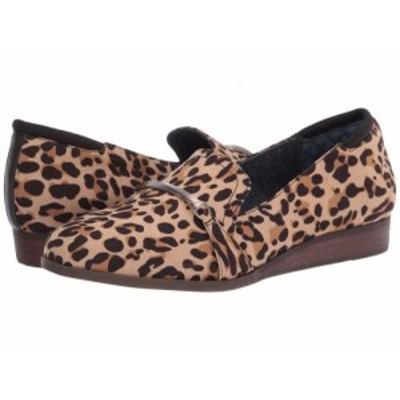 Dr. Scholls ドクターショール レディース 女性用 シューズ 靴 ローファー ボートシューズ Dezi Tan/Black Leopard【送料無料】