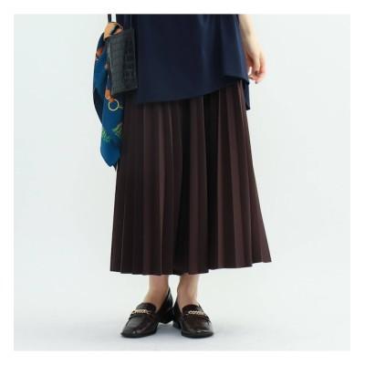 【インディヴィ/INDIVI】 【ハンドウォッシュ】ダンボールプリーツスカート