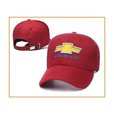 Yoursport 車ロゴ刺繍野球帽 ユニセックス 調節可能な帽子 トラベルキャップ 男性用 女性用 ? シボレーア