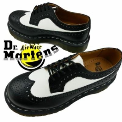 送料無料 メンズ レディース 革靴 ドクターマーチン Dr.Martens 3989 BEX 10458001 カジュアルシューズ ブローグ 5ホールシューズ ブロー