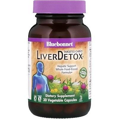 ターゲットチョイス、肝臓デトックス、植物性カプセル30錠