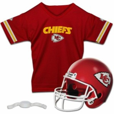 Franklin Sports フランクリン スポーツ スポーツ用品  Franklin Sports Kansas City Chiefs Youth Helmet and Jersey S