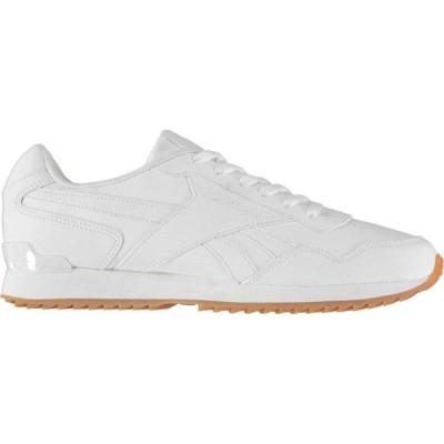 リーボック Reebok メンズ スニーカー シューズ・靴 Royal Glide Trainers TripleWhite/Gum