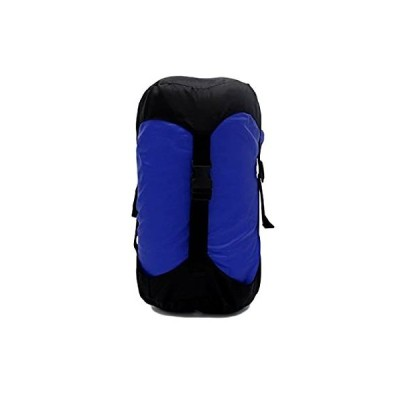 GoBackTrail 圧縮スタッフサック - 24 & 14リットル 防水ポリエステル - 縮みやすいアイテム - 寝袋 衣類 キャンプ ハイキング
