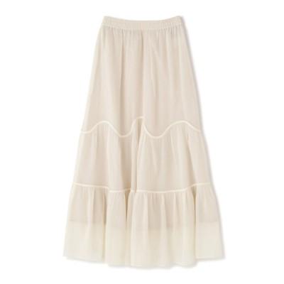 FREE'S MART / ボイルウェーブティアードスカート WOMEN スカート > スカート
