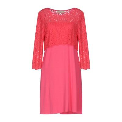 ジャスト・フォー・ユー JUST FOR YOU ミニワンピース&ドレス フューシャ XS レーヨン 95% / ポリウレタン 5% ミニワンピース