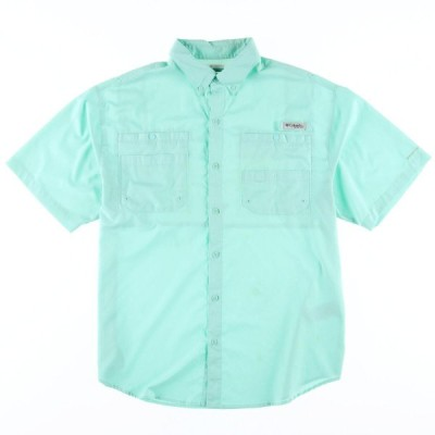 コロンビア PFG 半袖 フィッシングシャツ メンズL /eaa019322