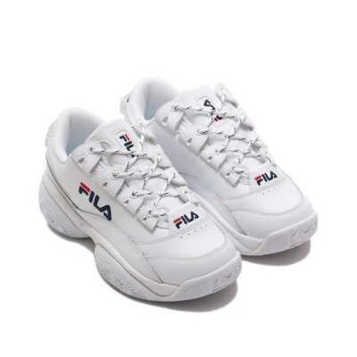 スニーカー FILA PROVENANCE (WHITE/FILA NAVY/FILA RED)