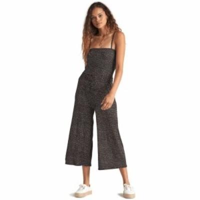 ビラボン Billabong レディース オールインワン ジャンプスーツ ワンピース・ドレス Try Me Jumpsuit Black