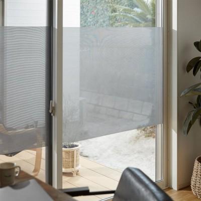 窓 目隠し 遮熱 窓シート 窓フィルム ガラスフィルム UVカット メッシュタイプ はがせる 日射調整 テレワーク 在宅 ロウヤ LOWYA