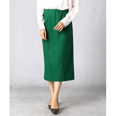 COMME CA ISM / 圧縮ウールジャージータイトスカート WOMEN スカート > スカート