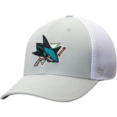 フォーティーセブン メンズ 帽子 アクセサリー San Jose Sharks '47 Back Pedal Contender Flex Hat