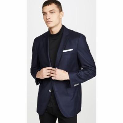 ヒューゴ ボス BOSS Hugo Boss メンズ スーツ・ジャケット シングルジャケット アウター Flannel Patch Pocket Sportcoat Na/y