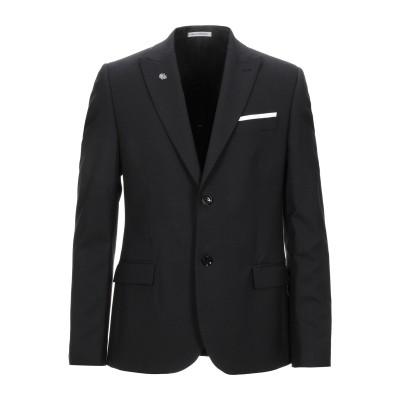 グレイ ダニエレ アレッサンドリーニ GREY DANIELE ALESSANDRINI テーラードジャケット ブラック 46 ウール 81% /