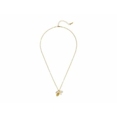 チャンルー ネックレス・チョーカー・ペンダントトップ アクセサリー レディース Short Necklace with Hand Charm and Semi Precious Stones Lemon Topaz