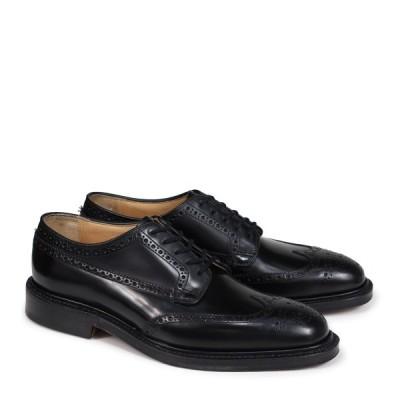 Churchs チャーチ 靴 グラフトン ウイングチップ シューズ メンズ GRAFTON レザー ブラック EEB009