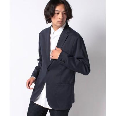 【シップス】 (0618)SC:NEW DOBBY CLOTH SLD2B メンズ ネイビー LARGE SHIPS