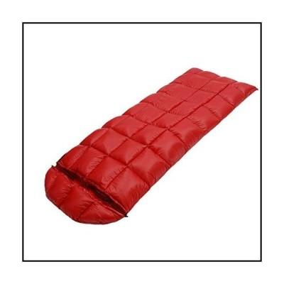 【新品】zshun Sleeping Bags Winter Spring Cold Weather Adult Regular 95% White Goose Down Sleeping Bag Sack Quilt with Hood for Backpack