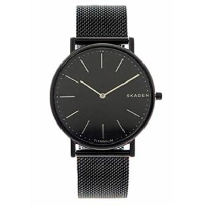 [スカーゲン] SKAGEN 腕時計 SKW6484 ブラック ユニセックス [並行輸入品](中古品)