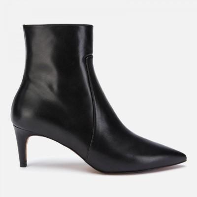 ホイッスルズ Whistles レディース ブーツ シューズ・靴 Celia Leather Kitten Heeled Boots - Black Black