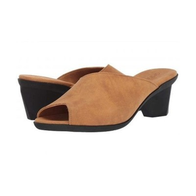 Arche アルシュ レディース 女性用 シューズ 靴 ヒール Enoukh - Camel