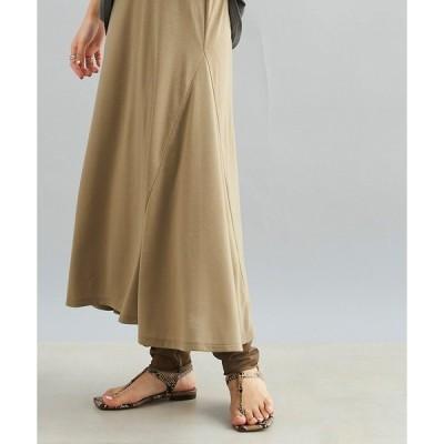 スカート フレアスカート+シアーレギンス