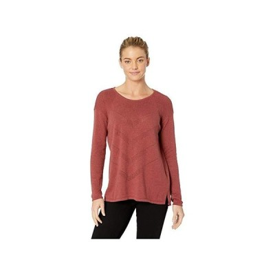 Prana Mainspring Sweater レディース セーター Mulled Wine Heather