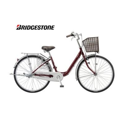 (店舗受取送料割引)ブリヂストン(BRIDGESTONE) カルーサ シングル 24型 CR40T1 ファミリーサイクル