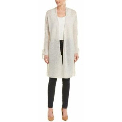 IN Cashmere インカシミア ファッション トップス In Cashmere Tie-Sleeve Cardigan L Grey