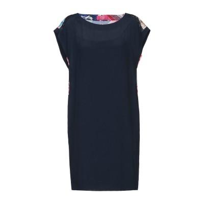 VDP CLUB ミニワンピース&ドレス ダークブルー 42 アセテート 69% / シルク 31% / レーヨン ミニワンピース&ドレス