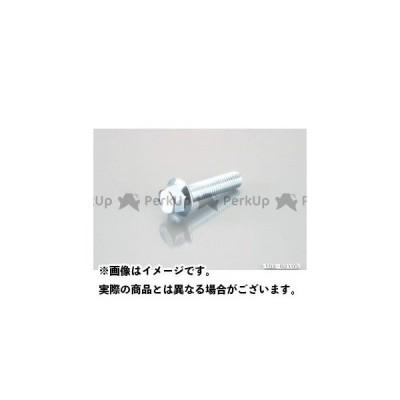 【無料雑誌付き】キタココンビニパーツ 汎用 フランジ付き六角ボルト(ユニクロ) M10 サイズ:M10×20/P1.5 K-CON