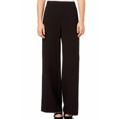 kensie ケンジー ファッション パンツ Kensie NEW Black White Womens Size Medium M Wide Leg Side Stripe Pants