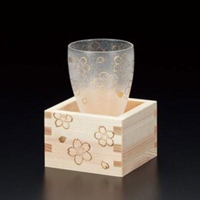 アデリア 桜枡酒グラス | 日本酒グラス | プレミアムニッポンテイスト 6603