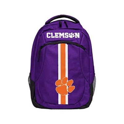 Clemson Tigers Actionバックパックパープルandオレンジ【並行輸入品】