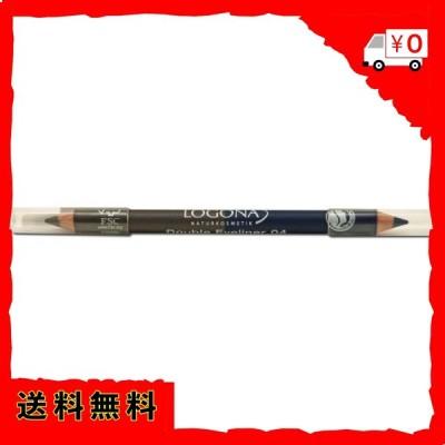 【日本正規輸入品】 ロゴナ アイライナーペンシルデュオ 04スチールグレー 1.38g