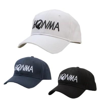 2021 HONMA GOLF/ホンマゴルフ HONMAロゴプレーンキャップ 131-735603