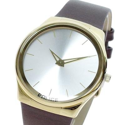 ポリス POLICE 腕時計 メンズ レディース PL.13816JSG/04 ホライズン Horizon クォーツ シルバー ブラウン