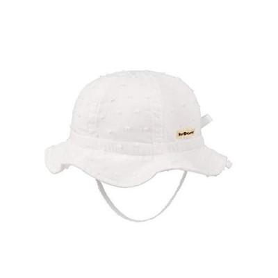 [ミキハウス ホットビスケッツ] 帽子 72-9101-389 SS 白