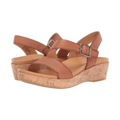 Kork-Ease コークイーズ レディース 女性用 シューズ 靴 サンダル Minihan - Brown Full Grain