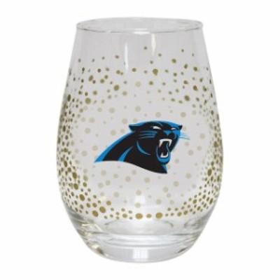 The Memory Company ザ メモリー カンパニー スポーツ用品  Carolina Panthers Glitter Stemless Tumbler